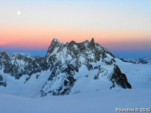 Grandes Jorasses, Chamonix Mont-Blanc