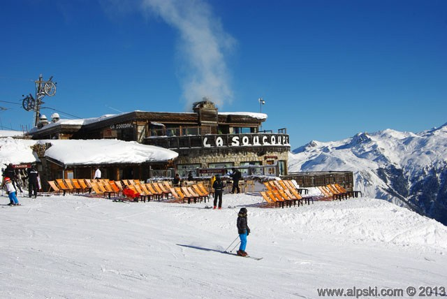 La Soucoupe restaurant bar