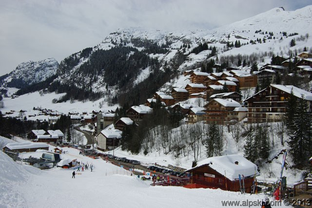 Le village de Chinaillon, Le Grand Bornand