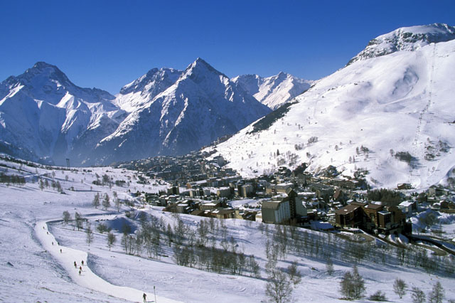 Le village, Les 2 Alpes
