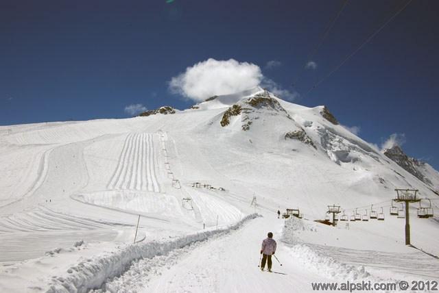Glacier Grande Motte, Tignes