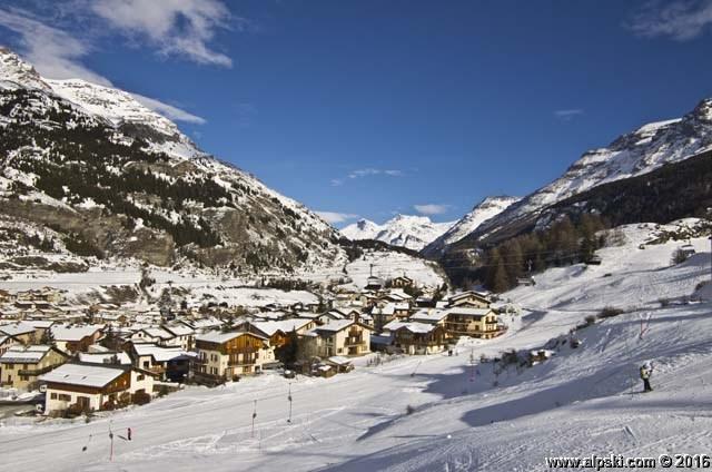 Village de Lanslevillard, Val Cenis