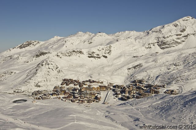 Le village de Val Thorens, Val Thorens